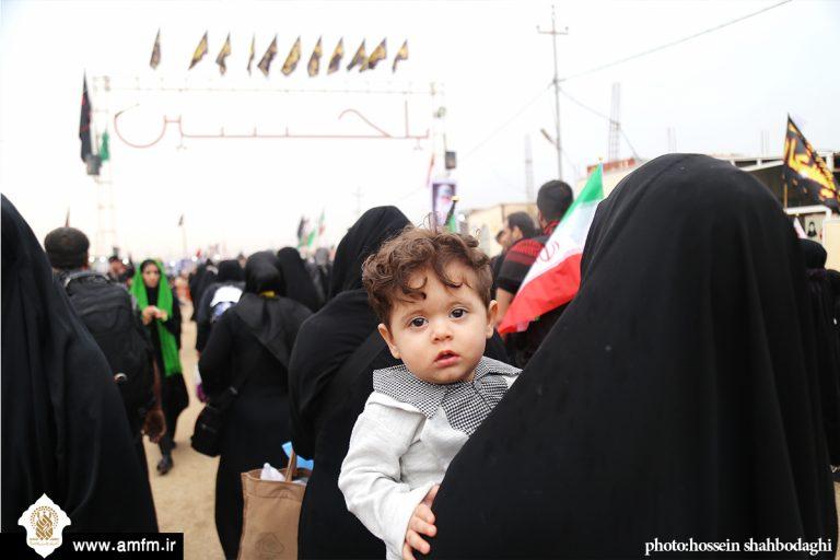 گزارش تصویری: زائران کوچک امام حسین(ع) در راهپیمایی اربعین