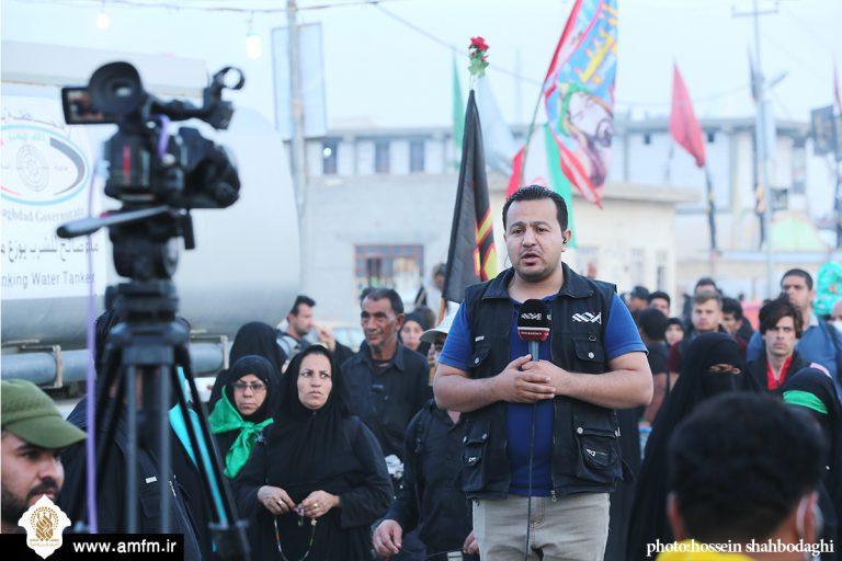 گزارش تصویری: حضور اصحاب رسانه در قرارگاه رسانه ای اربعین موکب آستان مقدس