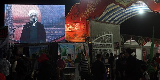 دو تلویزیون شهری در موکب آستان مقدس کریمه اهل بیت(س) نصب شد+تصاویر