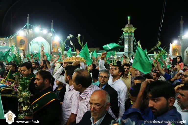گزارش تصویری: جشن منادیان غدیر در حرم حضرت معصومه(س) برگزار شد