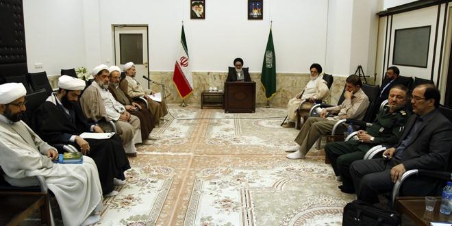 نشست اعضای قرارگاه فرهنگی مساجد قم تشکیل شد