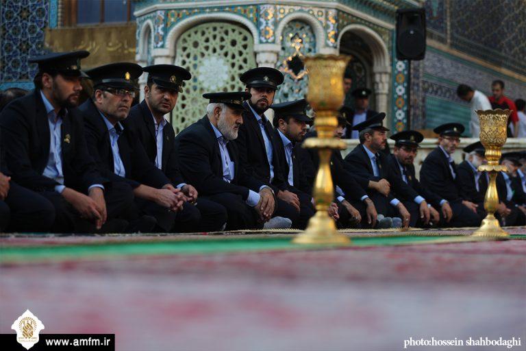 آیین اذن خدمت خادمان حرم بانوی کرامت در رمضان برگزار می شود