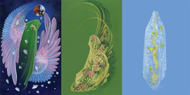 سه تابلوی نفیس نقاشی به آستان مقدس حضرت معصومه(س) اهدا شد