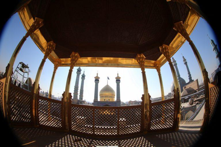 افتتاح شبستان حضرت زهرا(س) حرم حضرت معصومه(س)