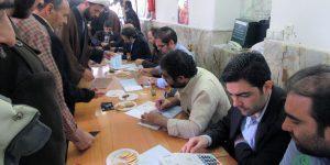گزارش تصویری: حرم مطهر، عرصه حضور پرشور مردم در انتخابات