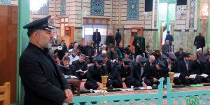 گزارش تصویری قرائت جمعی زیارت حضرت زهرا(س) در حرم