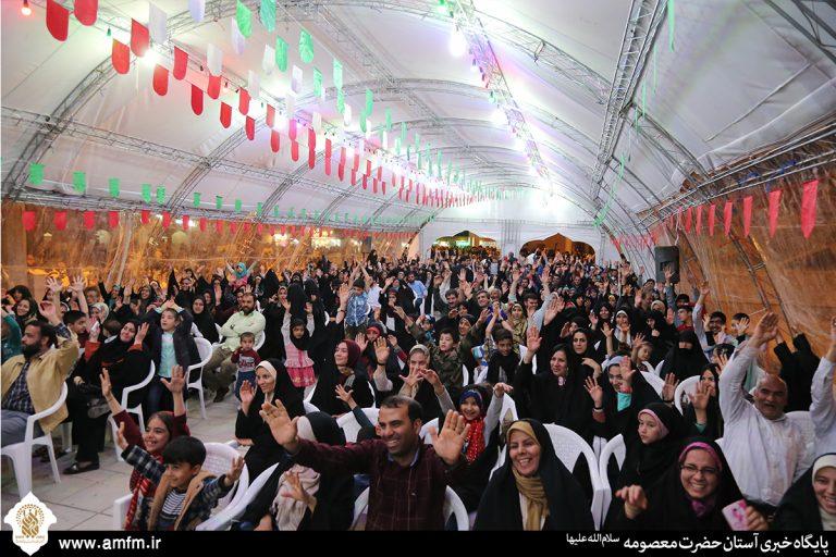 برگزاری ویژهبرنامه جشن همراهی در حرم کریمه اهلبیت(س)