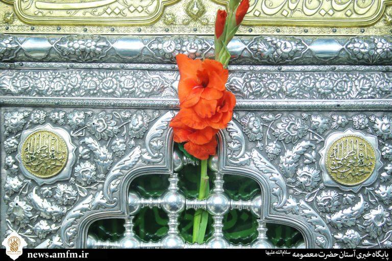 برگزاری آیین خطبه خوانی در صحن امام هادی(ع)