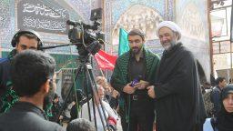 بیشترین ارتباط رسانهای اربعین به موکب آستان مقدس حضرت معصومه(س) اختصاص دارد