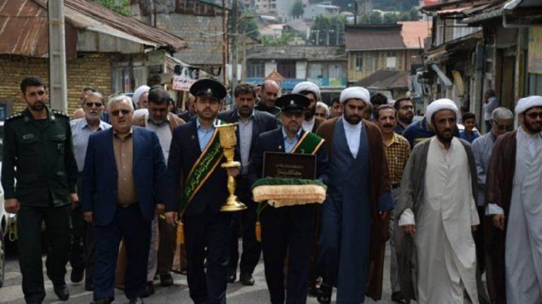 استقبال از کاروان سفیران کریمه در سوادکوه +تصاویر