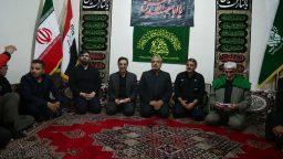 حضور شهردار قم و مدیر شبکه افق در موکب حضرت معصومه(س) +تصاویر