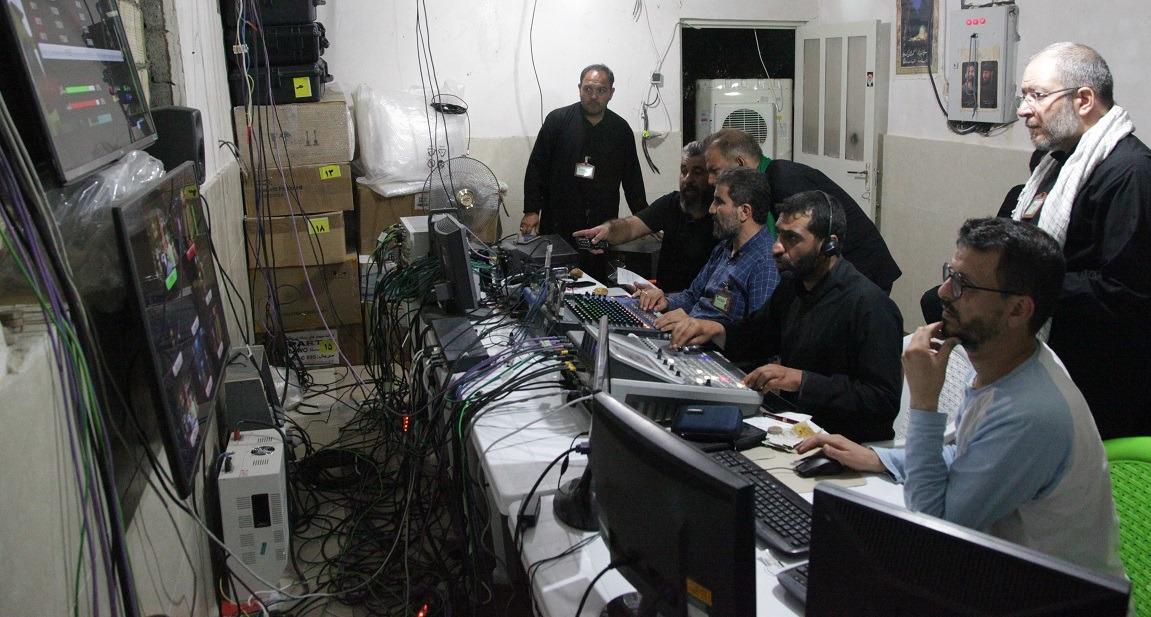 ۲۰ شبکه برونمرزی و بینالمللی در موکب آستان مقدس بانوی کرامت استقرار یافتند