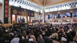 مراسم شام شهادت حضرت زهرا(س) در حرم مطهر+تصاویر