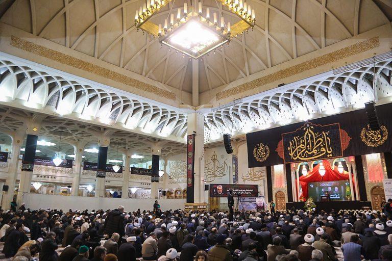 مراسم سوگواری شب شهادت حضرت زهرا(س) و بزرگداشت قیام ۱۹دی