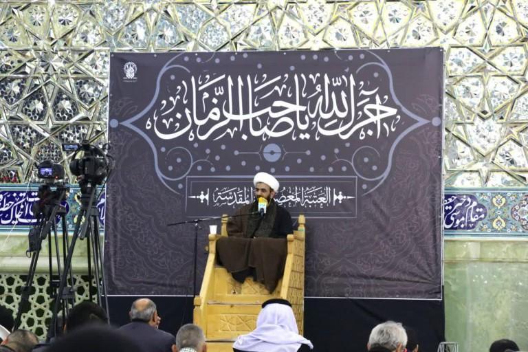 برگزاری مراسم عزاداری وفات حضرت امالبنین(س) ویژه آذریها و عربها