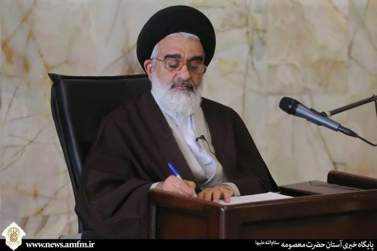 پیام آیت الله سعیدی خطاب به رئیس مجلس شورای اسلامی