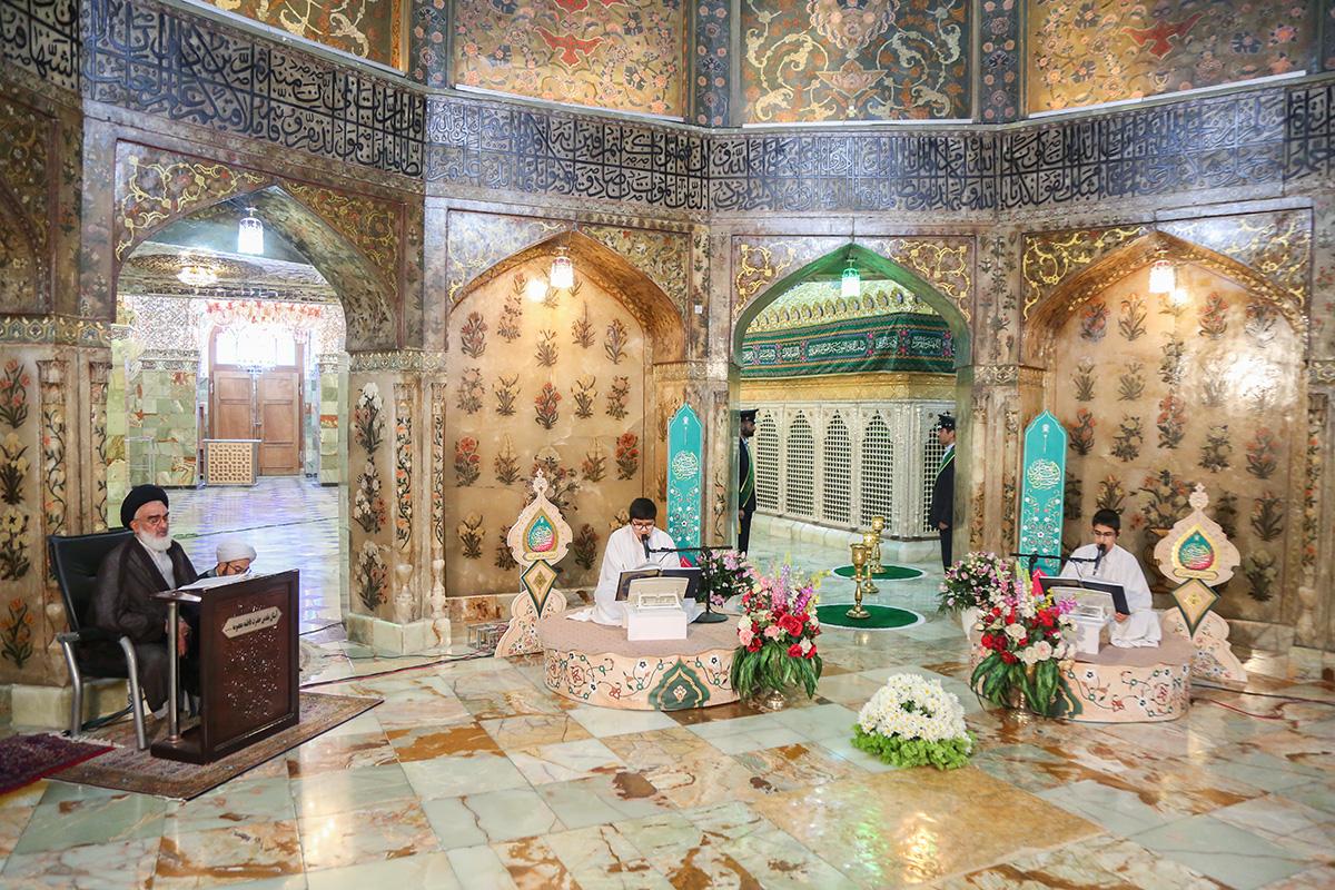 برگزاری آیین ترتیلخوانی نوجوانان با حضور آیتالله سعیدی