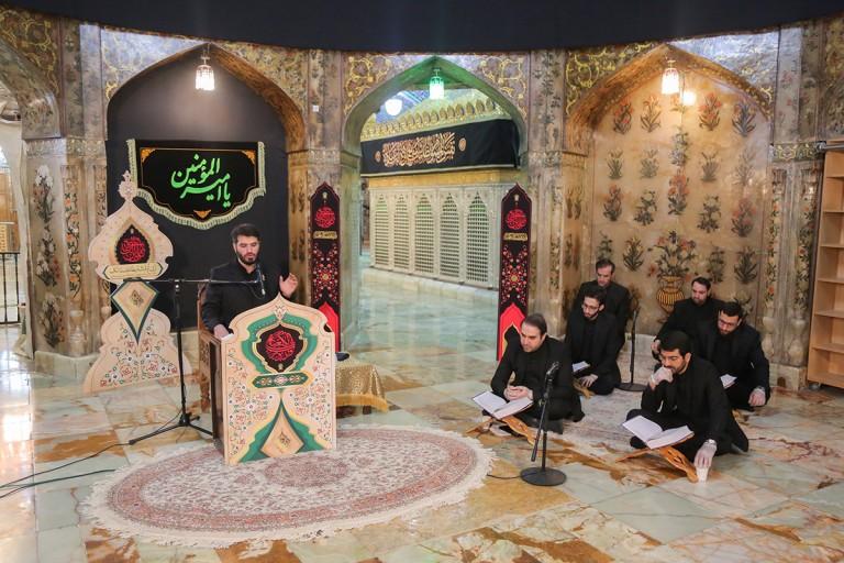 مراسم احیا نخستین شب قدر در حرم کریمه اهلبیت(س) برگزار شد +تصاویر