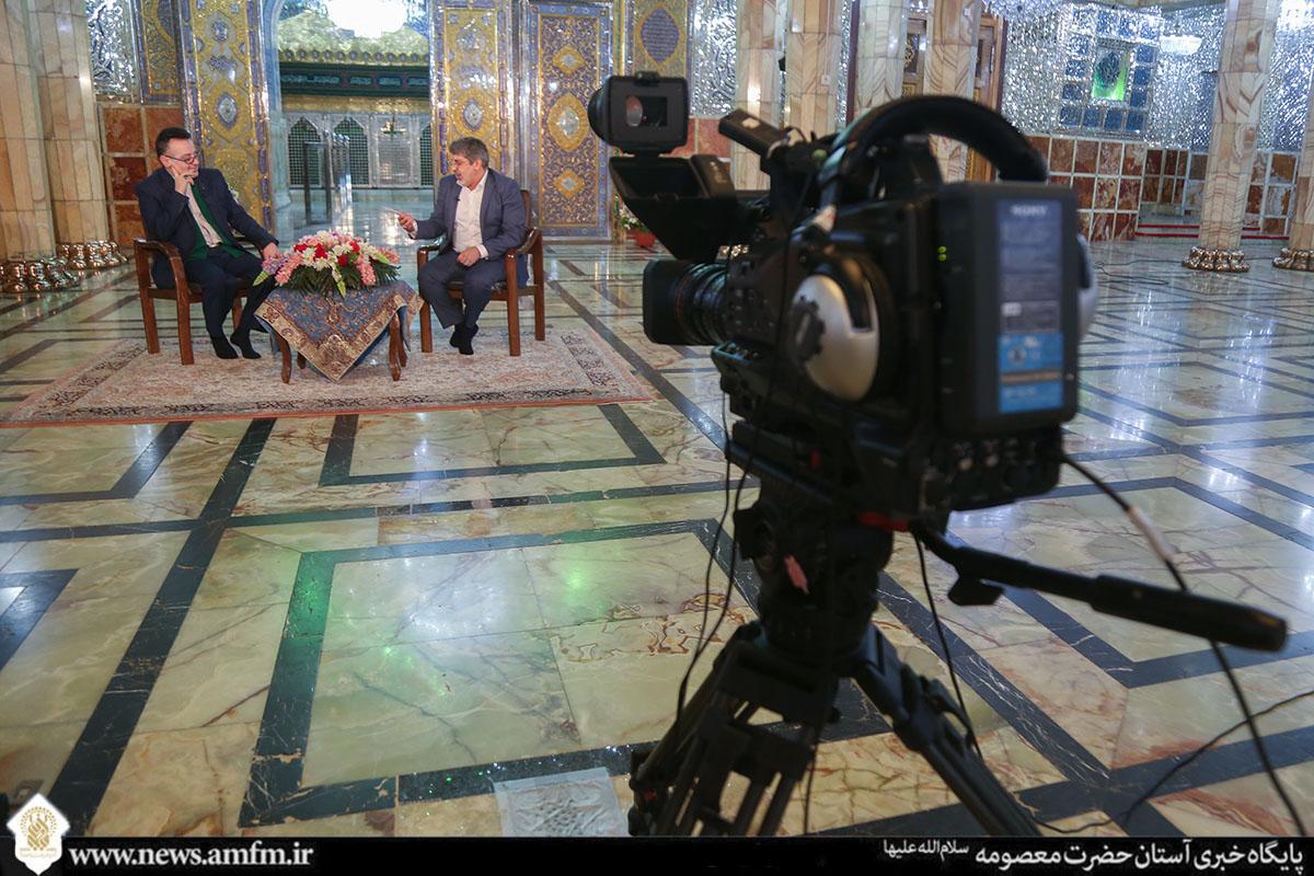 انعکاس بیش از ۳۴۰۰ دقیقه برنامه رسانهای از حرم مطهر حضرت معصومه(س) در دهه کرامت