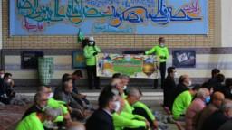 خادمان افتخاری دوچرخهسوار از قم تا مشهد مقدس رکاب میزنند