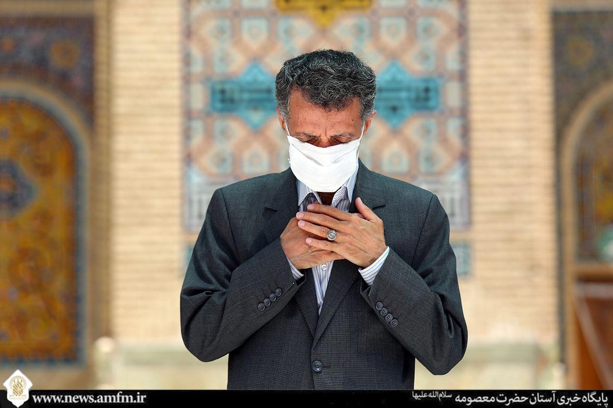 دلتنگی زائران حضرت معصومه(س) برای زیارت امام رضا(ع)
