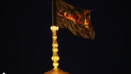 پرچم گنبد حرم حضرت معصومه(س) تعویض شد