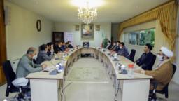 نشست مدیران نهادهای قرآنی استان قم برای توسعه فعالیتهای قرآنی برگزار شد +تصاویر
