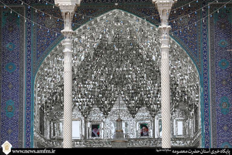 ایوان آینه؛ تجسم نور اهل بیت(ع) در معماری اسلامی