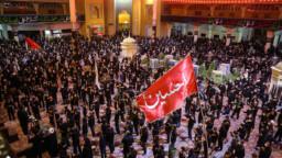 زائران حرم کریمه اهلبیت(س) در سوگ عاشورای حسینی