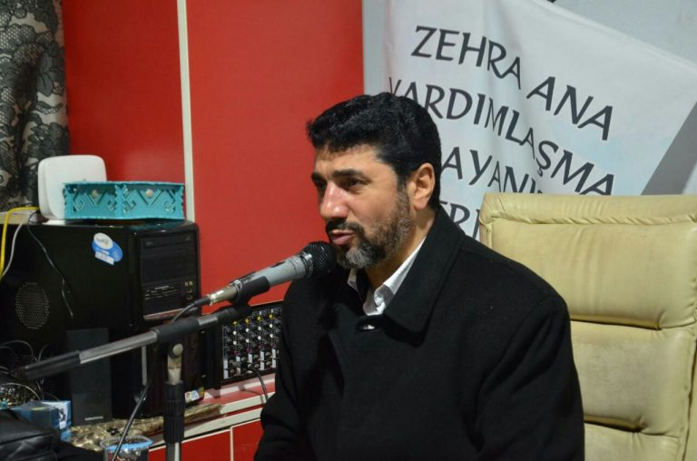 Zahraana Charity Association held a Commemoration Ceremony on the occasion of Fatima Masoumeh (SA) Martyrdom in Istanbul