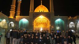 The mourning ceremony for the demise of Lady Fatima Masuma held by Thai Islamic Seminary students in Qom