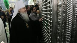 Metropolitan Feofan visited holy shrine