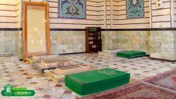 حرم میں مدفون علماء