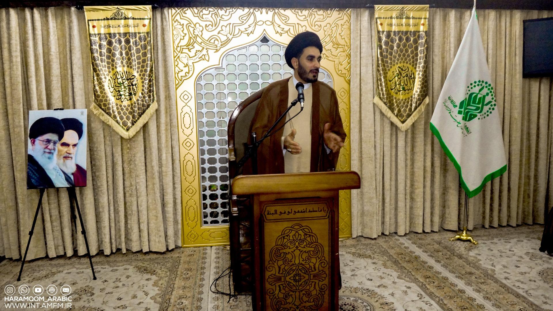 مراسم عيد الغدير الأغر التي أقيمت في إدارة الزائرين التابعة للحرم الشريف