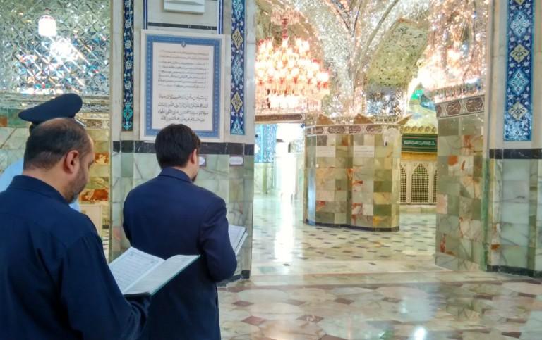 کریمہ اہلبیت حضرت فاطمہ معصومہ سلام اللہ علیہا کی ولادت  کے موقع پر لائیو جشن اور نیابتی زیارت  کا پروگرام منعقد ہوا۔