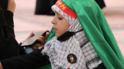 حضرت سکینہ سلام اللہ علیہا کی شھادت کی مناسبت سے کم سن بچیوں کے لئے مجلس عزا کا انعقاد